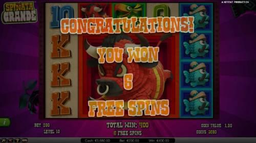 Spinata Grande review on Big Bonus Slots