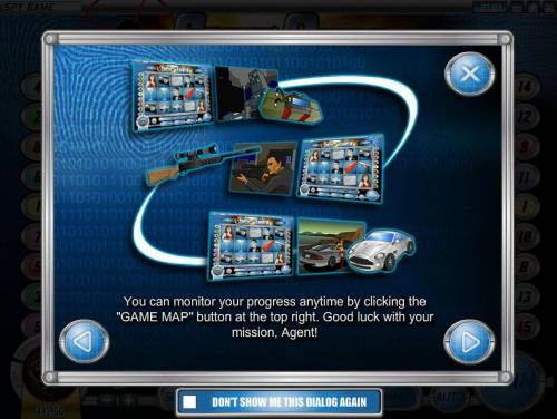 Spy Game review on Big Bonus Slots