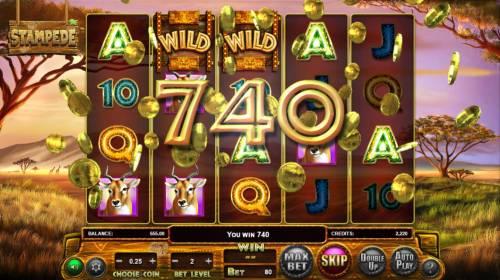 Stampede review on Big Bonus Slots