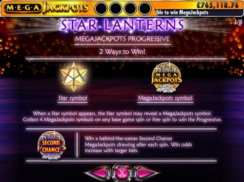 Star Lanterns Mega Jackpots review on Big Bonus Slots