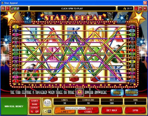 Star Appeal review on Big Bonus Slots