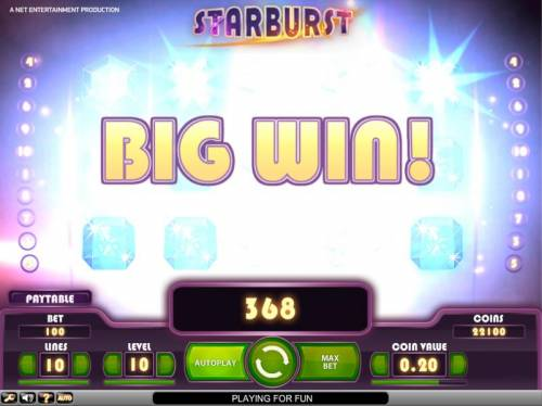 Starburst review on Big Bonus Slots