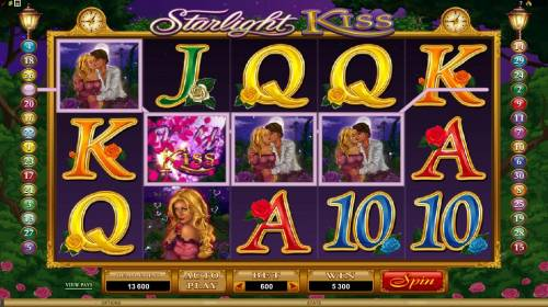 Starlight Kiss Big Bonus Slots here is an example of a 5300 coin multiline big win