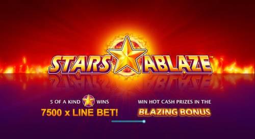 Stars Ablaze review on Big Bonus Slots