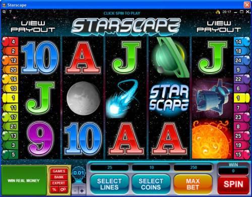 Starscape review on Big Bonus Slots