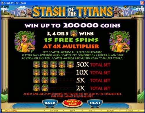Stash of the Titans review on Big Bonus Slots