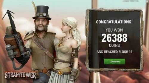 Steam Tower review on Big Bonus Slots