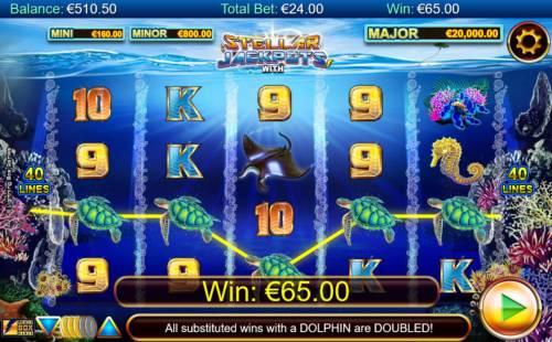 Stellar Jackpots with Dolphin Gold review on Big Bonus Slots