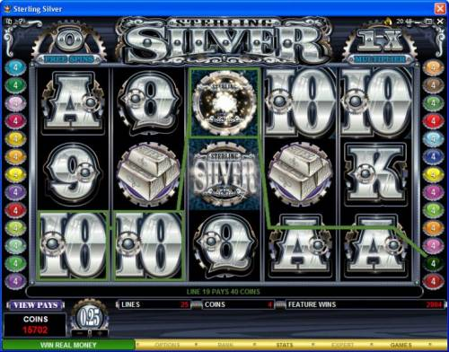 Sterling Silver review on Big Bonus Slots