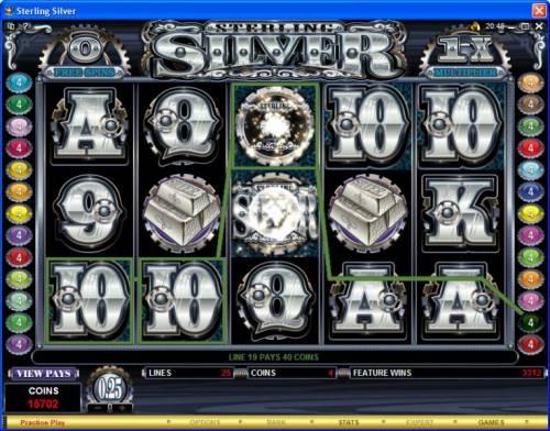 Sterling Silver review on Big Bonus Slots