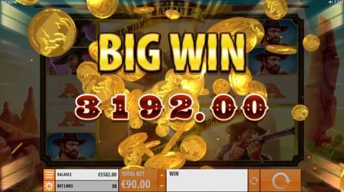 Sticky Bandits Big Bonus Slots A 3192 big win awarded