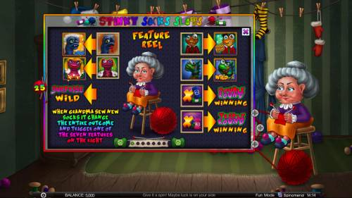 Stinky Socks Slots Big Bonus Slots Feature Rules