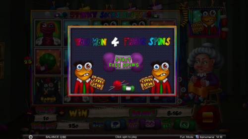 Stinky Socks Slots Big Bonus Slots 4 free spins awarded