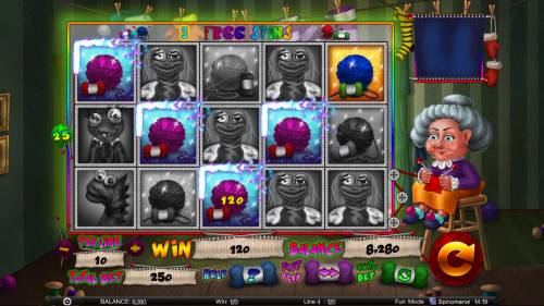 Stinky Socks Slots Big Bonus Slots Free Spins Game Board
