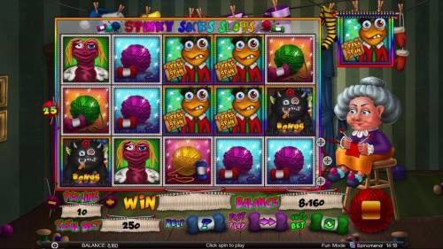 Stinky Socks Slots Big Bonus Slots Free Spins Activated