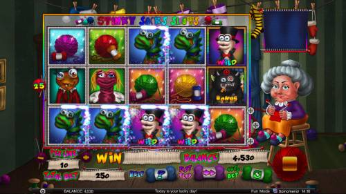 Stinky Socks Slots Big Bonus Slots Multiple winning paylines