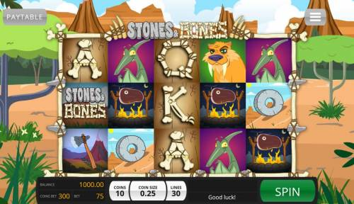 Stones & Bones review on Big Bonus Slots