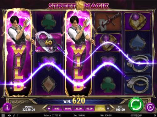 Street Magic review on Big Bonus Slots