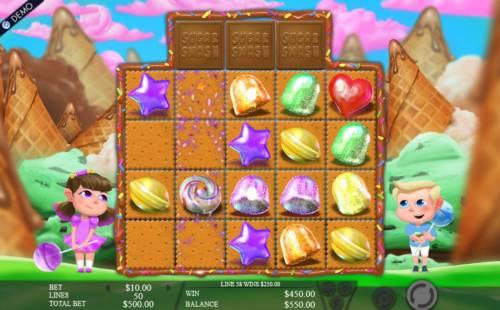Sugar Smash review on Big Bonus Slots