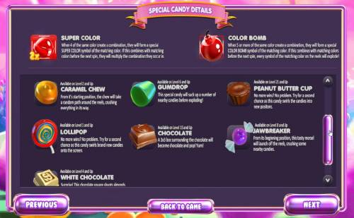 Sugar Pop! review on Big Bonus Slots