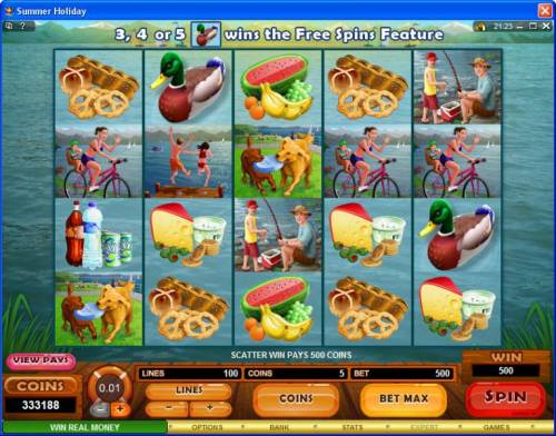 Summer Holiday review on Big Bonus Slots