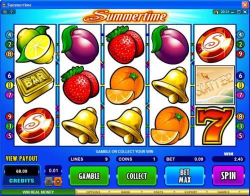 Summertime review on Big Bonus Slots