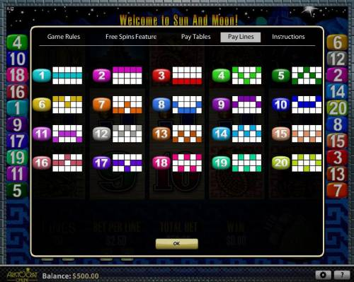 Sun & Moon review on Big Bonus Slots