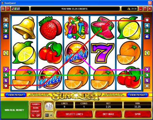 Sunquest review on Big Bonus Slots