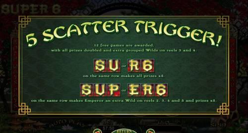 Super 6 review on Big Bonus Slots