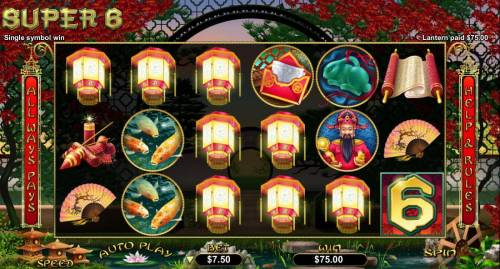 Super 6 review on Big Bonus Slots