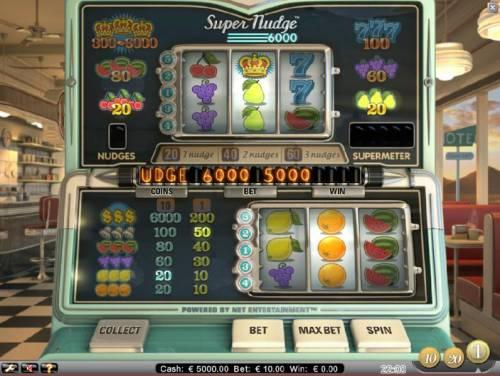 Super Nudge 6000 review on Big Bonus Slots