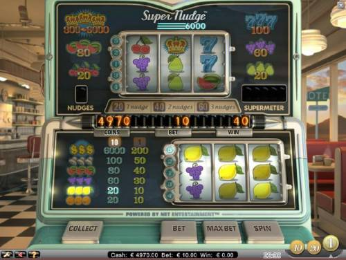 Super Nudge 6000 review on Big Bonus Slots