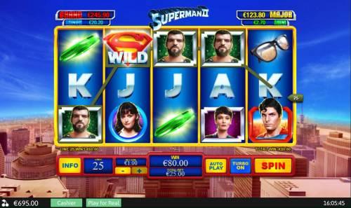 Superman II review on Big Bonus Slots