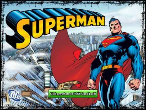 Superman review on Big Bonus Slots