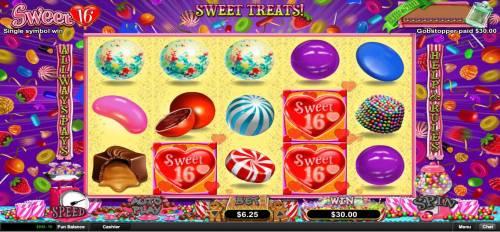Sweet 16 review on Big Bonus Slots