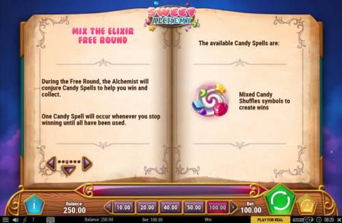Sweet Alchemy review on Big Bonus Slots