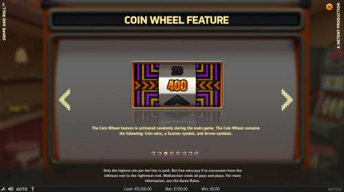 Swipe and Roll review on Big Bonus Slots