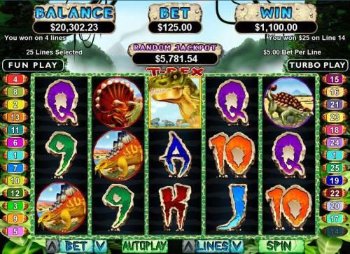 T-Rex review on Big Bonus Slots