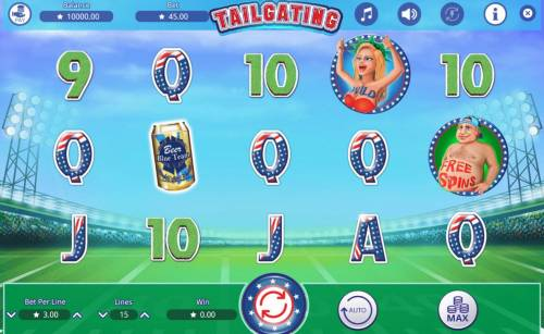 Tailgating review on Big Bonus Slots