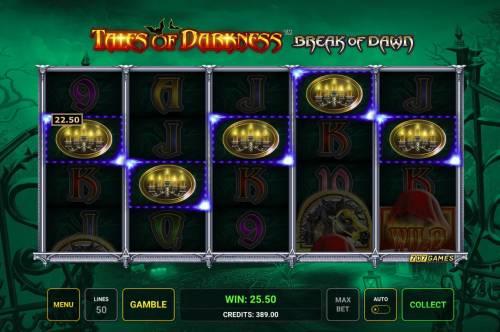 Tales of Darkness Break of Dawn review on Big Bonus Slots