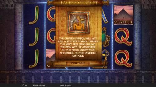 Tales of Egypt review on Big Bonus Slots