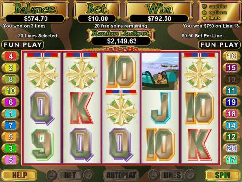 Tally Ho review on Big Bonus Slots