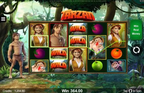 Tarzan review on Big Bonus Slots