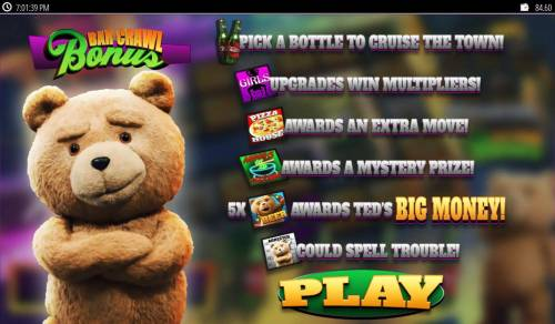 Ted Big Bonus Slots Click play to continue