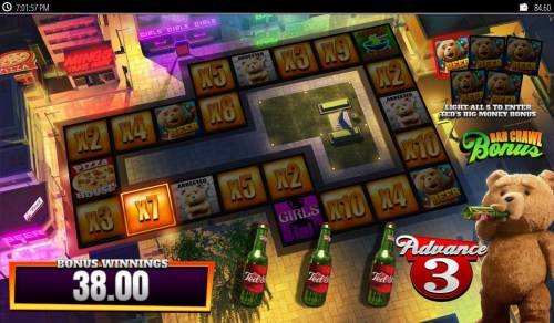 Ted Big Bonus Slots Collect prize multipliers or feature