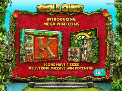 Temple Quest review on Big Bonus Slots