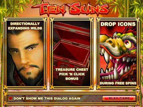 Ten Suns review on Big Bonus Slots