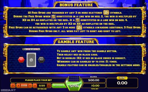 Texas Ranger's Reward review on Big Bonus Slots