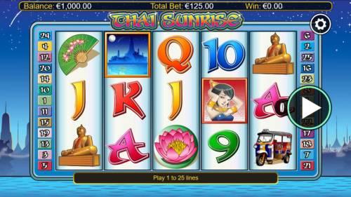 Thai Sunrise review on Big Bonus Slots