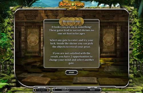 The Anaconda Eye Big Bonus Slots Bonus Game